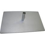 Bodenplatte 2,7kg Dorn