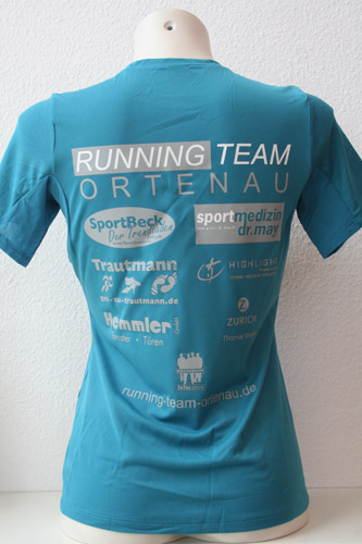 Textildruck Running Team