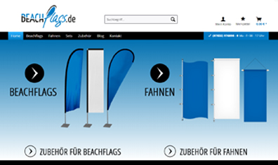 Shop Beachflags.de