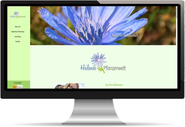 Web Heilende Pflanzenwelt