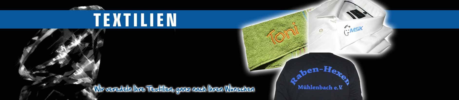 Slider Textilien